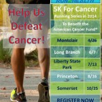 5K For Cancer 2014 Schedule